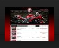 Web design and web development thumbnail of Bike Shop Online
