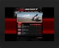 Web design and web development thumbnail of Scott Motorcycles